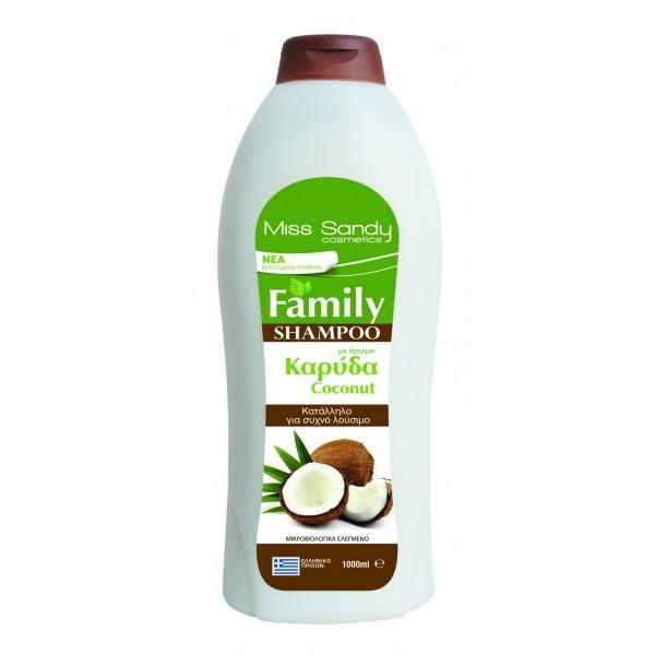 Shampoo Family 1000ml ΚΑΡΥΔΑ Σαμπουάν